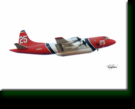 CA Dept of Forestry Air Tanker / Bomber
