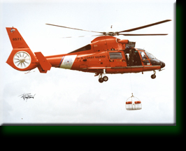 US Coast Guard Rescue Helicopter