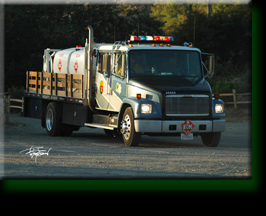CA Dept of Forestry Fuel Tanker