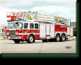 "Houston Ladder 76  ""Alief ! """