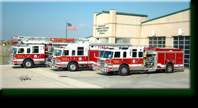 Community VFD Ladder 1 Rescue 1 & Engine 3