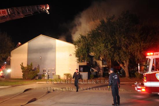Incident 2 Alarm Apartment Fire Plaza Azul Apts Brookglade Dairy Ashford Houston Tx February 18