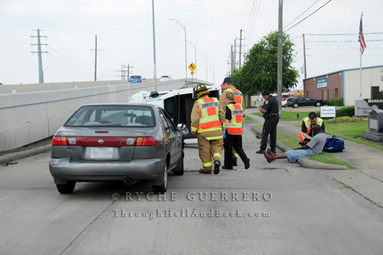 Motor vehicle incident w roll over alief clodine for Department of motor vehicles houston texas