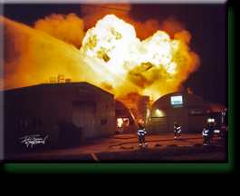 2 Alarm Warehouse Fire Houston
