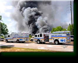 Commercial Building Fire / Hazardous Material 2009