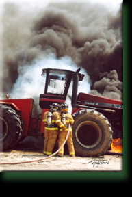 Tractor Fire Houston